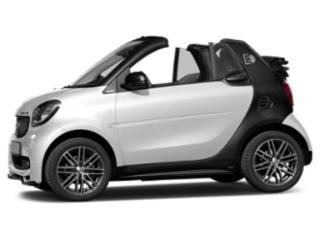 White 2018 smart fortwo electric drive Pictures fortwo electric drive Convertible 2D Passion Electric photos side view