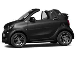 Black 2018 smart fortwo electric drive Pictures fortwo electric drive Convertible 2D Passion Electric photos side view