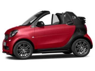 Red 2018 smart fortwo electric drive Pictures fortwo electric drive Convertible 2D Passion Electric photos side view