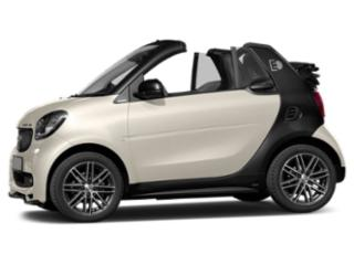 Moon White Matte 2018 smart fortwo electric drive Pictures fortwo electric drive Convertible 2D Passion Electric photos side view