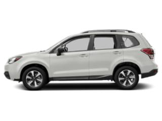 Crystal White Pearl 2018 Subaru Forester Pictures Forester 2.5i CVT photos side view