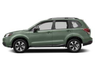 Jasmine Green Metallic 2018 Subaru Forester Pictures Forester 2.5i CVT photos side view
