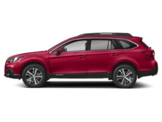 Crimson Red Pearl 2018 Subaru Outback Pictures Outback 3.6R Limited photos side view