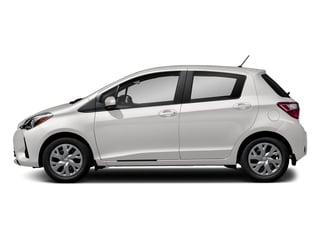 Super White 2018 Toyota Yaris Pictures Yaris Hatchback 5D L I4 photos side view