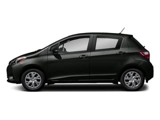 Black Sand Pearl 2018 Toyota Yaris Pictures Yaris Hatchback 5D L I4 photos side view