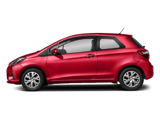 Ruby Flare Pearl 2018 Toyota Yaris Pictures Yaris Hatchback 3D LE I4 photos side view
