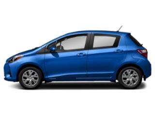 Blue Eclipse w/Black Sand Pearl Roof 2018 Toyota Yaris Pictures Yaris Hatchback 5D L I4 photos side view