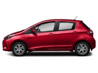 Ruby Flare Pearl 2018 Toyota Yaris Pictures Yaris Hatchback 5D L I4 photos side view
