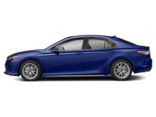 Blue Crush Metallic 2018 Toyota Camry Pictures Camry Sedan 4D XLE I4 Hybrid photos side view