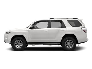 Super White 2018 Toyota 4Runner Pictures 4Runner TRD Off Road 4WD photos side view