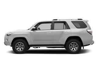 Classic Silver Metallic 2018 Toyota 4Runner Pictures 4Runner TRD Off Road 4WD photos side view