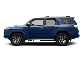 Nautical Blue Metallic 2018 Toyota 4Runner Pictures 4Runner TRD Off Road 4WD photos side view