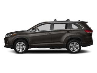 Predawn Gray Mica 2018 Toyota Highlander Pictures Highlander Utility 4D Limited 4WD V6 photos side view