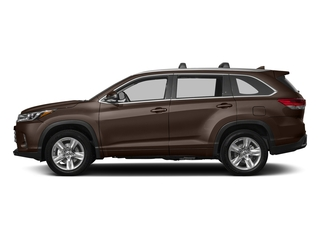 Toasted Walnut Pearl 2018 Toyota Highlander Pictures Highlander Utility 4D Limited 4WD V6 photos side view
