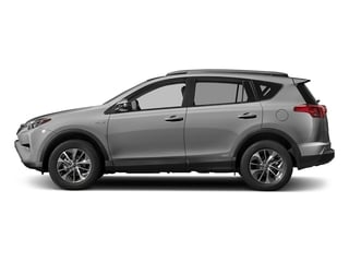 Silver Sky Metallic 2018 Toyota RAV4 Pictures RAV4 Utility 4D XLE AWD I4 Hybrid photos side view