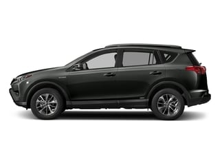 Black Sand Pearl 2018 Toyota RAV4 Pictures RAV4 Utility 4D XLE AWD I4 Hybrid photos side view