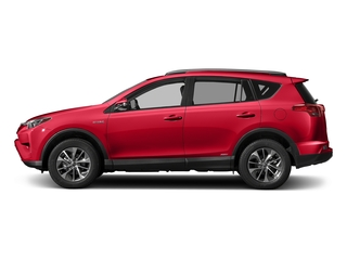 Ruby Flare Pearl 2018 Toyota RAV4 Pictures RAV4 Utility 4D XLE AWD I4 Hybrid photos side view