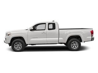 Super White 2018 Toyota Tacoma Pictures Tacoma SR5 Extended Cab 4WD I4 photos side view