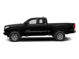 Midnight Black Metallic 2018 Toyota Tacoma Pictures Tacoma SR5 Extended Cab 4WD I4 photos side view