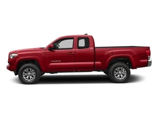 Barcelona Red Metallic 2018 Toyota Tacoma Pictures Tacoma SR5 Extended Cab 4WD I4 photos side view