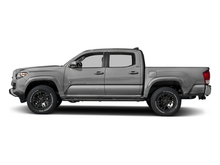 Silver Sky Metallic 2018 Toyota Tacoma Pictures Tacoma SR5 Crew Cab 4WD V6 photos side view