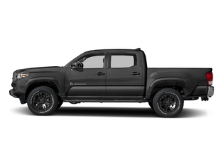 Magnetic Gray Metallic 2018 Toyota Tacoma Pictures Tacoma SR5 Crew Cab 4WD V6 photos side view