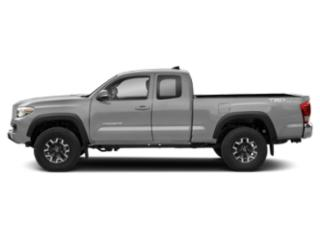 Silver Sky Metallic 2018 Toyota Tacoma Pictures Tacoma TRD Off-Road Extended Cab 4WD V6 photos side view