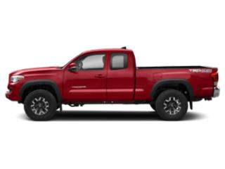 Barcelona Red Metallic 2018 Toyota Tacoma Pictures Tacoma TRD Off-Road Extended Cab 4WD V6 photos side view