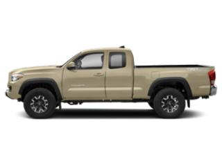 Quicksand 2018 Toyota Tacoma Pictures Tacoma TRD Off-Road Extended Cab 4WD V6 photos side view