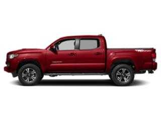 Barcelona Red Metallic 2018 Toyota Tacoma Pictures Tacoma TRD Sport Crew Cab 2WD V6 photos side view