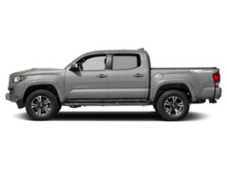 Silver Sky Metallic 2018 Toyota Tacoma Pictures Tacoma TRD Sport Crew Cab 2WD V6 photos side view