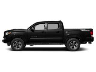 Midnight Black Metallic 2018 Toyota Tacoma Pictures Tacoma TRD Sport Crew Cab 2WD V6 photos side view