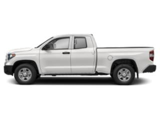 Super White 2018 Toyota Tundra 4WD Pictures Tundra 4WD SR5 Double Cab 4WD photos side view