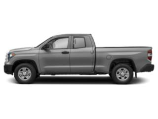Silver Sky Metallic 2018 Toyota Tundra 4WD Pictures Tundra 4WD SR5 Double Cab 4WD photos side view
