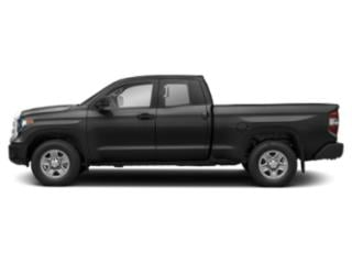 Midnight Black Metallic 2018 Toyota Tundra 4WD Pictures Tundra 4WD SR5 Double Cab 4WD photos side view