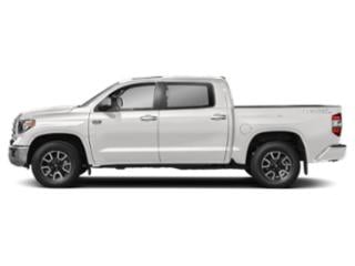 Super White 2018 Toyota Tundra 4WD Pictures Tundra 4WD 1794 Edition CrewMax 4WD photos side view