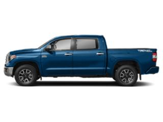Blazing Blue Pearl 2018 Toyota Tundra 4WD Pictures Tundra 4WD 1794 Edition CrewMax 4WD photos side view