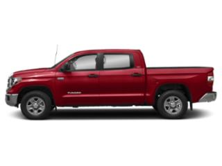 Barcelona Red Metallic 2018 Toyota Tundra 4WD Pictures Tundra 4WD SR5 CrewMax 4WD photos side view