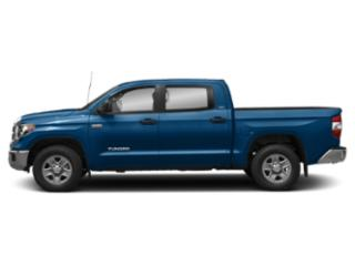 Blazing Blue Pearl 2018 Toyota Tundra 4WD Pictures Tundra 4WD SR5 CrewMax 4WD photos side view