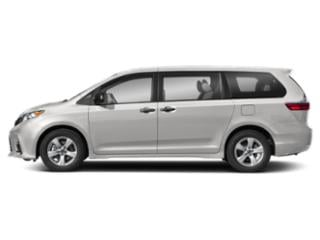 Super White 2018 Toyota Sienna Pictures Sienna Wagon 5D LE AWD V6 photos side view