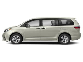 Blizzard Pearl 2018 Toyota Sienna Pictures Sienna Wagon 5D XLE AWD V6 photos side view