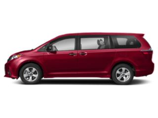 Salsa Red Pearl 2018 Toyota Sienna Pictures Sienna Wagon 5D LE AWD V6 photos side view