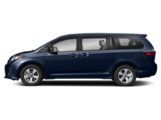 Parisian Night Pearl 2018 Toyota Sienna Pictures Sienna L FWD 7-Passenger photos side view