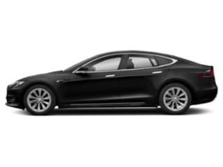 Solid Black 2018 Tesla Motors Model S Pictures Model S Sedan 4D D 100 kWh AWD photos side view