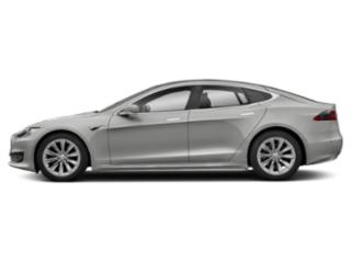 Silver Metallic 2018 Tesla Motors Model S Pictures Model S Sedan 4D D 100 kWh AWD photos side view