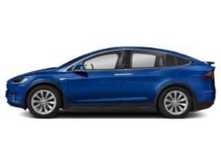 Deep Blue Metallic 2018 Tesla Motors Model X Pictures Model X Utility 4D D Performance 100 kWh AWD photos side view