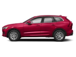 Fusion Red Metallic 2018 Volvo XC60 Pictures XC60 T6 AWD Inscription photos side view