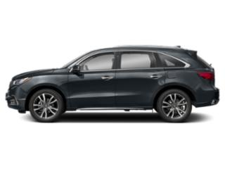 Gunmetal Metallic 2019 Acura MDX Pictures MDX FWD w/Advance/Entertainment Pkg photos side view