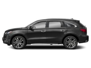 Modern Steel Metallic 2019 Acura MDX Pictures MDX FWD w/Advance/Entertainment Pkg photos side view