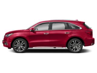 Performance Red Pearl 2019 Acura MDX Pictures MDX SH-AWD w/Advance/Entertainment Pkg photos side view